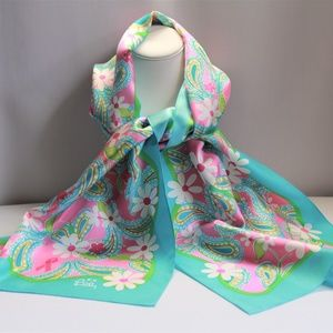 Lilly Pulitzer Race for the Cure Silk Scarf